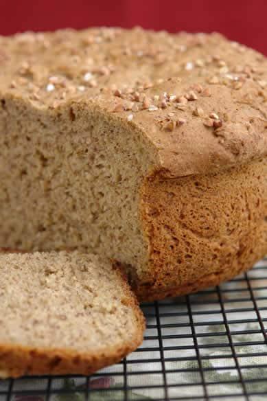 Gluten-Free Brown Honey Bread from Gluten Free Blog