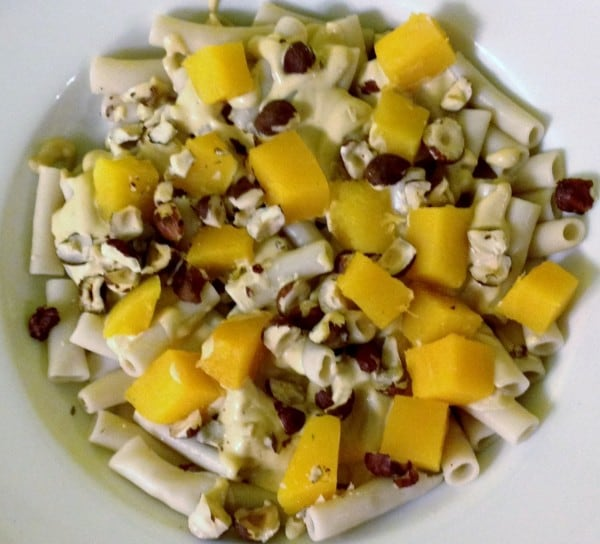 gluten free, dairy free, egg free, vegan, butternut squash, Mario Battali, Otto's, Johnna Perry, In Johnna's Kitchen