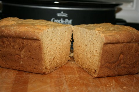 Perfect Gluten-Free Bread in Slow Cooker