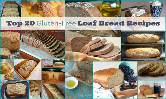It's a Bountiful Bread Basket, Part 1! Top 20 Best Gluten-Free Bread Recipes---Loaves (Photo)