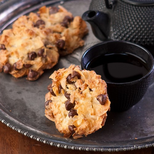 gluten free, dairy free, macaroons, cookies, coconut, chocolate, recipe, Lisa Horel, Gluten Free Canteen