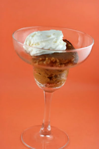 Crustless Slow Cooker Pumpkin Pudding from A Year of Slow Cooking