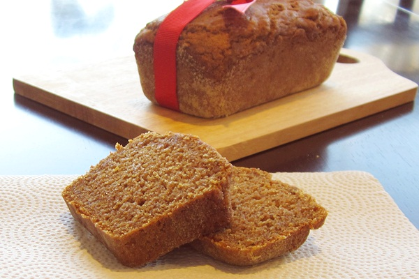 Perfect Pumpkin Bread from Go Dairy Free