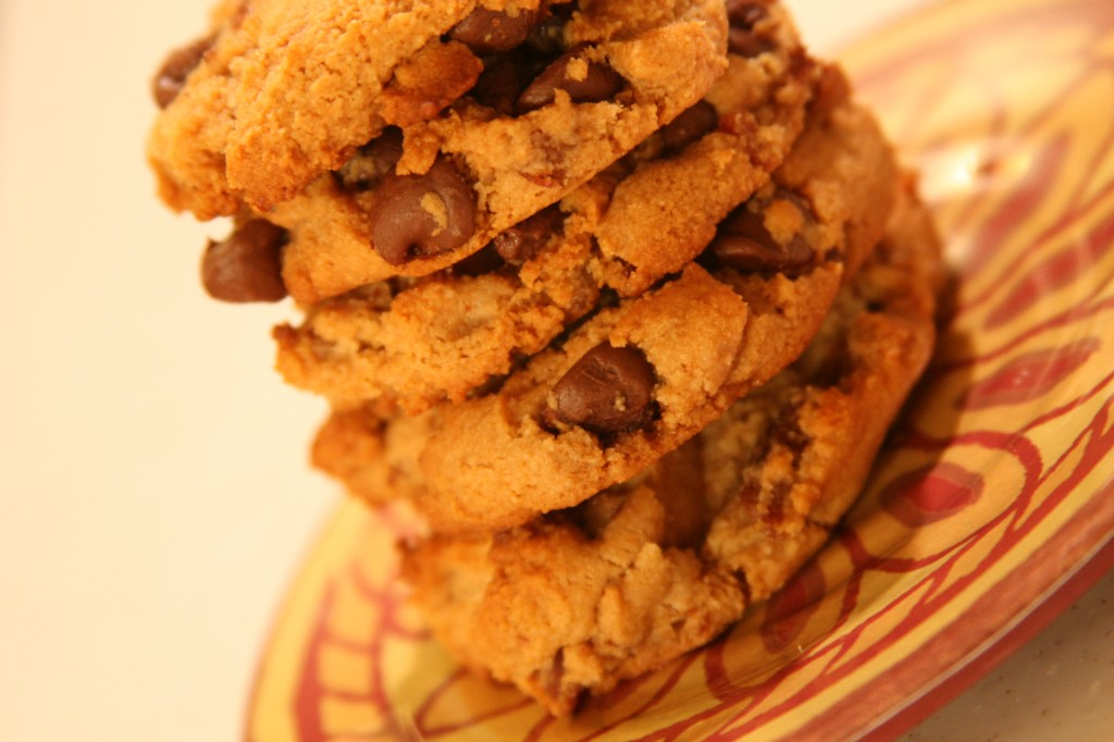 gluten free, grain free, paleo, primal, chocolate chip cookies, cookies, maple, bacon chocolate chip cookies, AndreAnna McLean, Life As A Plate