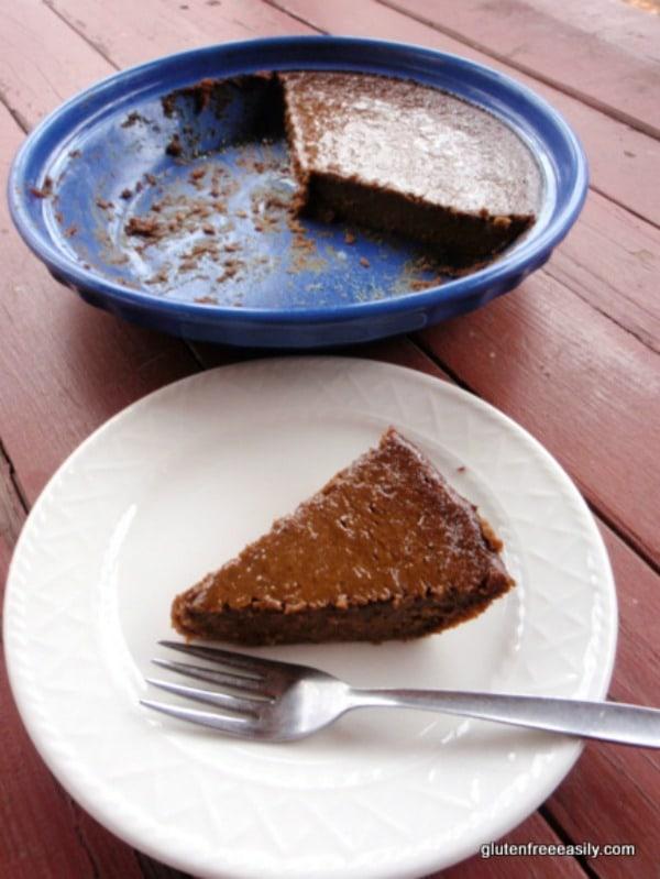 Crustless Pumpkin Butter Pie [from GlutenFreeEasily.com] (photo)
