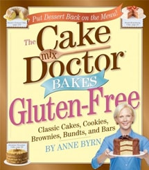 gluten free, baking mix, brownie mix, cake mix, the cake mix doctor, recipes, cookbook, Anne Byrn,
