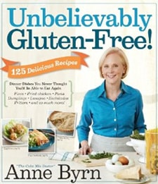 gluten free, Anne Byrn, Unbelievably Gluten Free!, cookbook, review, giveaway