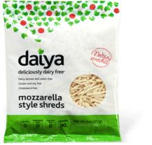 gluten free, dairy free, vegan, Daiya, mozzarella
