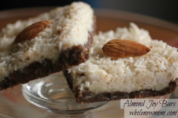 Almond Joy Bars from Whole New Mom