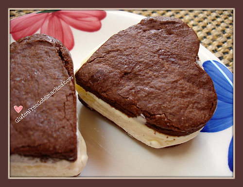 Homemade Ice Cream Sandwiches from Gluten Free Gobsmacked