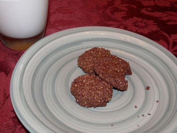 almonds, chocolate, cookies, Cheryl Harris RD, MPH, RD, CWC, CLC