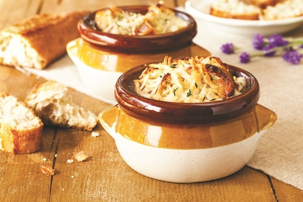 gluten free, dairy free, vegan, French Onion soup, Daiya cheese, recipe, Go Dairy Free