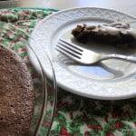 Crustless Fudge Pie