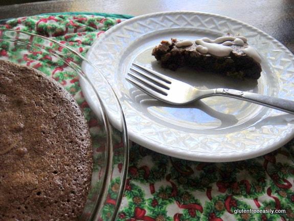 Crustless Gluten-Free Fudge Pie [from GlutenFreeEasily.com]