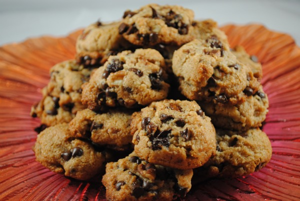 Gluten-Free Captain Jack's Chocolate Chip Rum Cookies from The Whole Gang [featured on AllGlutenFreeDesserts.com]