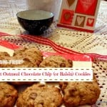 Coconut Chocolate Chip Oatie Cookies (or Coconut Raisin Oatie Cookies)