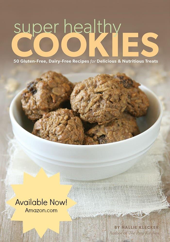 gluten free, dairy free, egg free, grain free, vegan, cookies, treats, Hallie Klecker