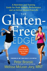 gluten free, athletic performance, celiac, inflammation, The Gluten-Free Edge, Melissa McLean Jory, Peter Bronski