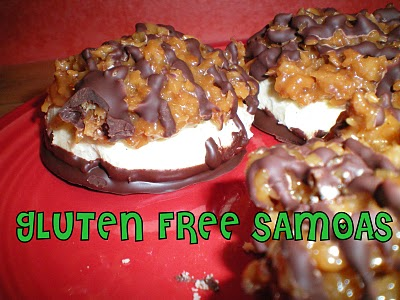 gluten free, Girl Scout cookies, Samoas, desserts, all gluten-free desserts, best gluten-free dessert recipes, free gluten-free dessert recipes, Betsy Thompson, Gluten-Free Betsy