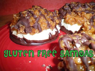 gluten free, Girl Scout cookies, Samoas, desserts, all gluten-free desserts, best gluten-free dessert recipes, free gluten-free dessert recipes, Betsy Thompson, Gluten-Free Betsy
