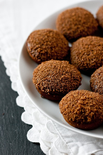 best gluten-free desserts, gluten-free doughnuts, gluten-free molasses doughnuts, gluten-free gingerbread doughnuts, gluten free, dairy free, molasses, Ashley McLaughlin, Edible Perspective