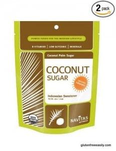 coconut sugar, palm sugar, Navitas Natural