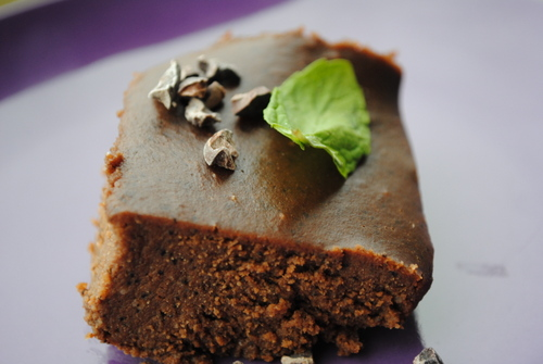 Raw Peppermint Mocha Truffle Cake from Hunter's Lyonesse