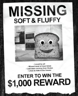 Rudi's gluten-free, bread, soft and fluffy, new recipe, facebook contest