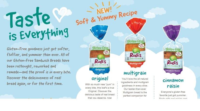 gluten free, soft and fluffy, bread, Rudi's Gluten-Free Bakery, Rudi's Gluten Free