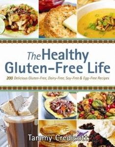 gluten free, dairy free, Tammy Credicott, cookbook