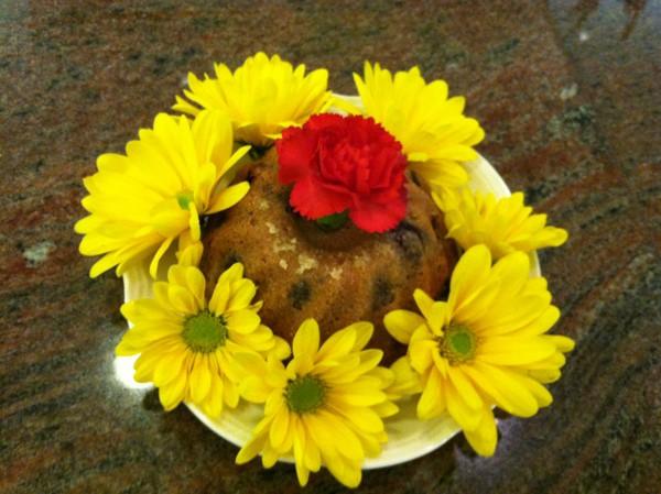 Sweet Potato and Walnut Version of Perfect Pound Cake