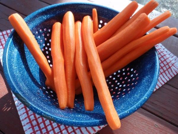 Organic Carrots vs Non Organic Carrots Fresh Organic Carrots