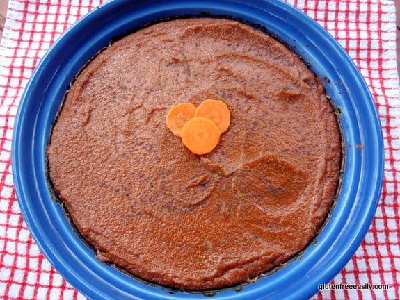 gluten free, dairy free, refined sugar free, grain free, paleo, pie, carrots, pumpkin,dessert, recipe,