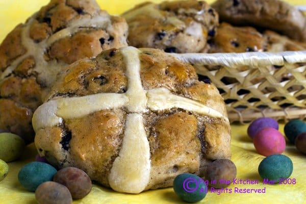 These Gluten-Free Hot Cross Buns surely add to the Easter goodness.