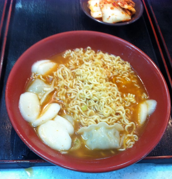 Eating Gluten Free in Korea. This item is NOT gluten free. A very helpful trip report and tutorial from gfe reader and friend. [from GlutenFreeEasily.com] (photo)