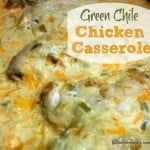This super easy and flavorful Green Chile Chicken Casserole works for Cinco de Mayo, any dinner, feeding a crowd, and more. People love it! [from GlutenFreeEasily.com] (photo)