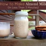 How to Make Almond Milk in Less Than 3 Minutes