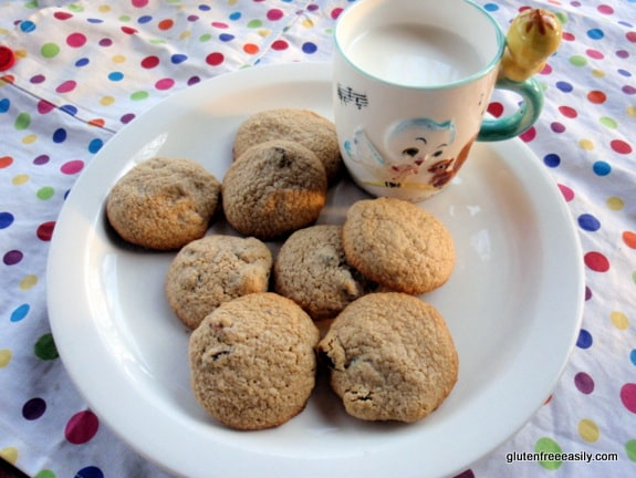 gluten free, oats, oatmeal, certified gluten-free oats, raisins, chocolate chips, cookies, recipe, dessert,