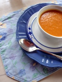 gluten free, dairy free, vegetarian, vegan, vegetable soup, soup, peppers, onions, mushroooms, yuick and easy, soup for one