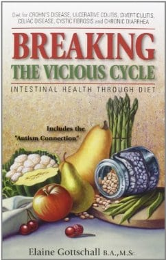 Breaking The Vicious Cycle, Specific Carbohydrate Diet, SCD, gluten free, grain free, refined sugar free, Elaine Gottschall, IBD, Inflammatory Bowel Disease