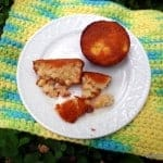Tender Corny Almond Muffins