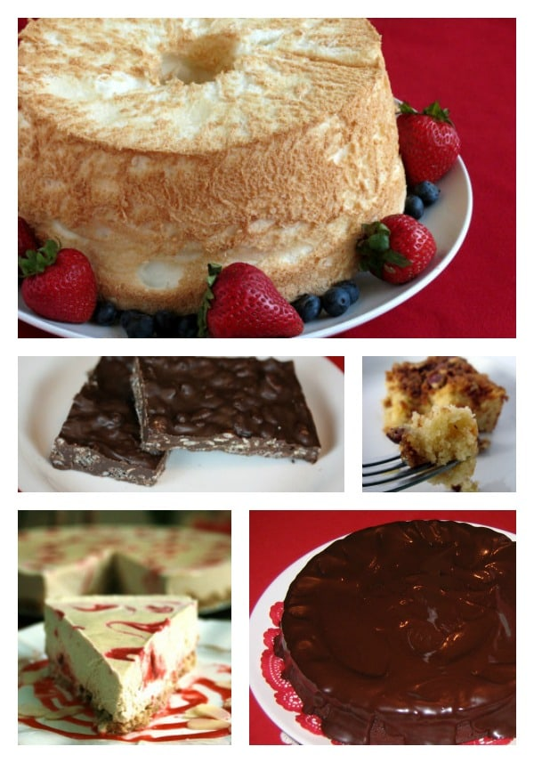 Top 20 Gluten-Free Mother's Day Dessert Recipes. Which would you choose for Mother's Day? To make or eat? Yes, you can choose more than one!