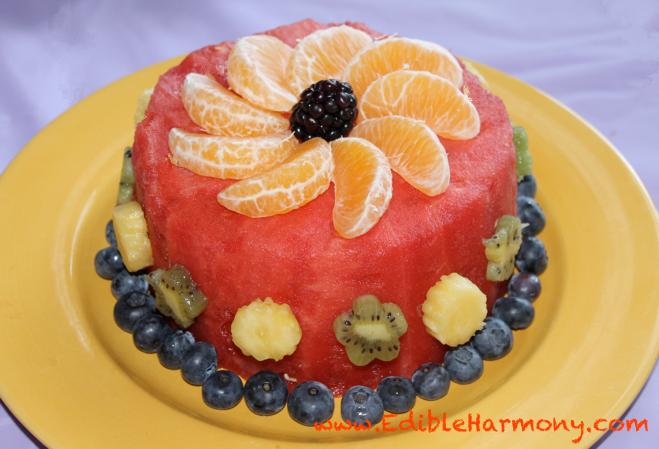gluten free, grain free, dairy free, egg free, soy free, vegan, vegetarian, cake, birthday cake, fruit dessert, gluten-free dessert recipes, best gluten-free dessert recipes, healthy birthday cake, Edible Harmony,