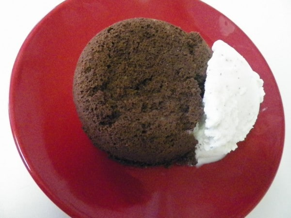 Best Coconut Flour Chocolate Mug Cake Ever