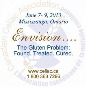 Canadian Celiac Association Conference, celiac, gluten free, Halton Peel Chapter, Marilyn Mahnke, Missisauga, Toronto