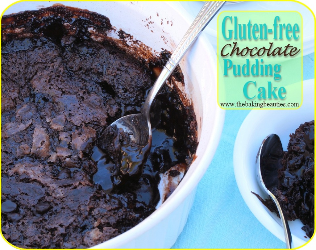Gluten-Free Chocolate Pudding Cake from The Baking Beauties [featured on AllGlutenFreeDesserts.com]