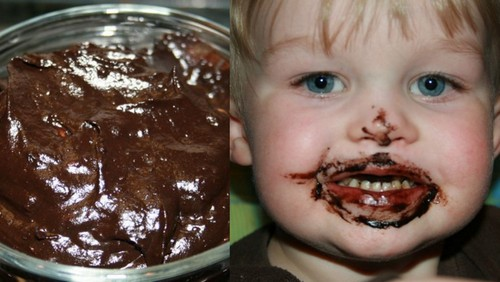 Tricky Chocolate Pudding from Adventures of a Gluten-Free Mom [featured on AllGlutenFreeDesserts.com]