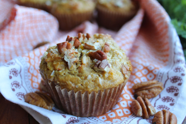 Gluten-Free Paleo Tropical Breakfast Muffins