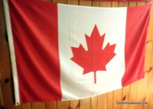 Canada Day, Canadian Flag