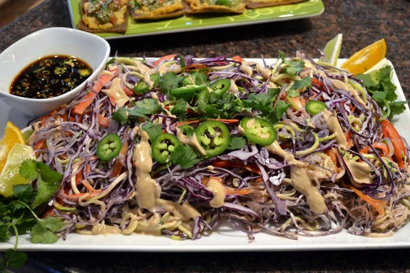 pad thai, raw Pad Thai, Raw Foods Thursdays, Reboot Health and Wellness